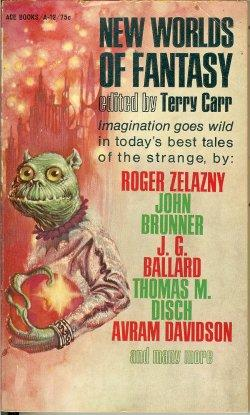 NEW WORLDS OF FANTASY: Carr, Terry (editor)(Roger