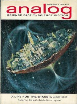 ANALOG Science Fact & Science Fiction: September,: Analog (James Blish;