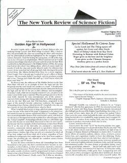 THE NEW YORK REVIEW OF BOOKS: No. 85, September, Sept. 1995