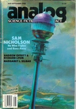 ANALOG Science Fiction/ Science Fact: Mid- September,: Analog (Andrew Offutt