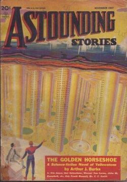 "ASTOUNDING Stories: November, Nov. 1937 (""Galactic Patrol""): Astounding (Arthur J."
