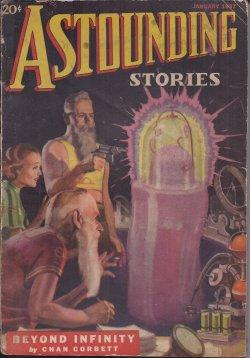 ASTOUNDING Stories: January, Jan. 1937: Astounding (Jack Williamson; Chan Corbett - aka Nat ...
