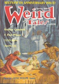 WEIRD TALES # 290: Spring 1988: Weird Tales (Gene