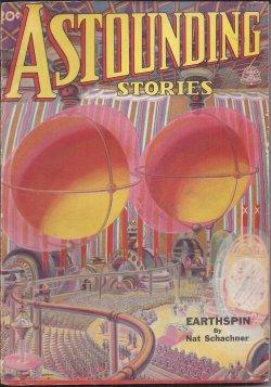 ASTOUNDING Stories: June 1937: Astounding (Nat Schachner; Don A. Stuart - aka John W. Campbell; Vic...