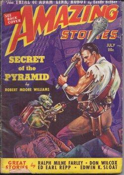 AMAZING Stories: July 1939: Amazing (Robert Moore Williams; Eando Binder; Ralph Milne Farley; Edwin...