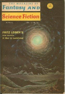 The Magazine of FANTASY AND SCIENCE FICTION: F&SF (Fritz Leiber;
