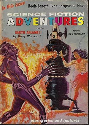 SCIENCE FICTION ADVENTURES: October, Oct. 1957: Science Fiction Adventures