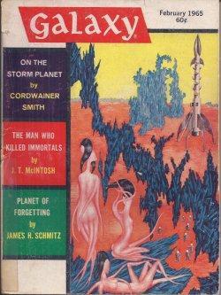 GALAXY Science Fiction: February, Feb. 1965: Galaxy (Cordwainer Smith;