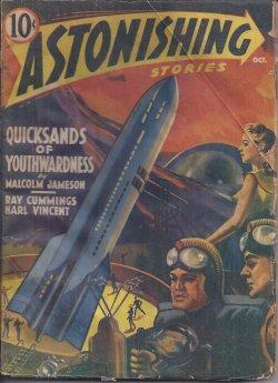 ASTONISHING Stories: October, Oct  1940