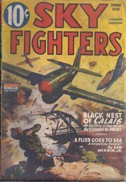 SKY FIGHTERS: Spring 1945: Sky Fighters (Steuart M. Emery; Sam Merwin, Jr.; Joe Archibald; Jackson ...