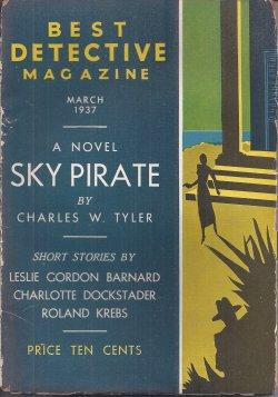 BEST DETECTIVE Magazine: March, Mar. 1937: Best Detective (Charles