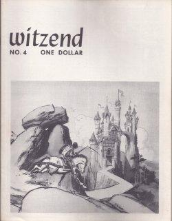WITZEND #4, 1968: Witzend (Wally Wood; Frank Frazetta; Steve Ditko; Reed Crandall; more)