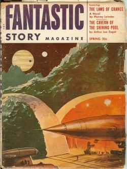 FANTASTIC STORY: Spring 1954: Fantastic Story (Murray