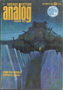 ANALOG Science Fiction/ Science Fact: November, Nov.: Analog (Clifford D.