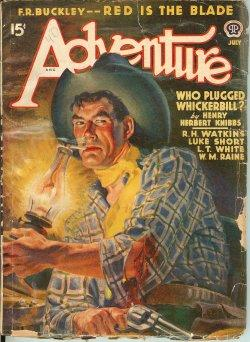 ADVENTURE: July 1940: Adventure (F. R.