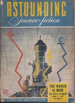 "ASTOUNDING Science Fiction: June 1943 (""Gather Darkness!""): Astounding (Fritz Leiber; ..."