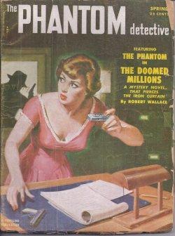 """THE PHANTOM DETECTIVE: Spring 1952 (""""The Doomed Millions""""): Phantom Detective (Robert ..."""