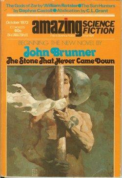 "AMAZING Science Fiction: October, Oct. 1973 (""The: Amazing (John Brunner;"