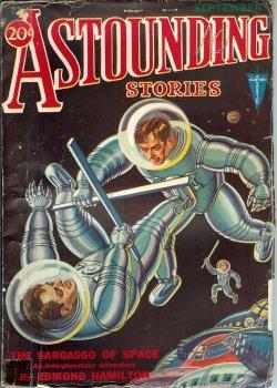 ASTOUNDING Stories: September, Sept. 1931: Astounding Stories (Harl Vincent; Hal K. Wells; Charles ...