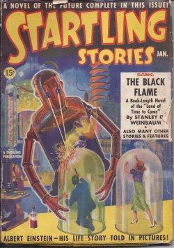 STARTLING Stories: January, Jan. 1939: Startling (Stanley G. Weinbaum; D. D. Sharp; Eando Binder; ...