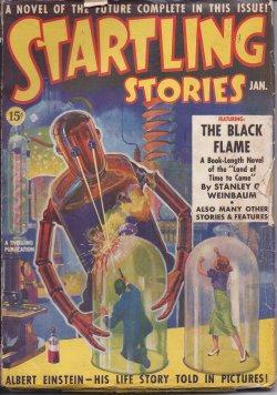 STARTLING Stories: January, Jan. 1939: Startling (Stanley G. Weinbaum; D. D. Sharp; Eando Binder; ...
