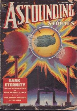"ASTOUNDING Stories: December, Dec. 1937 (""Galactic Patrol""): Astounding (E. E."