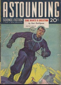 ASTOUNDING Science Fiction: June 1941: Astounding (Ross Rocklynne; Theodore Sturgeon; Nat Schachner...