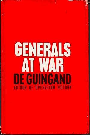 Generals At War SIGNED: De Guingand, Sir