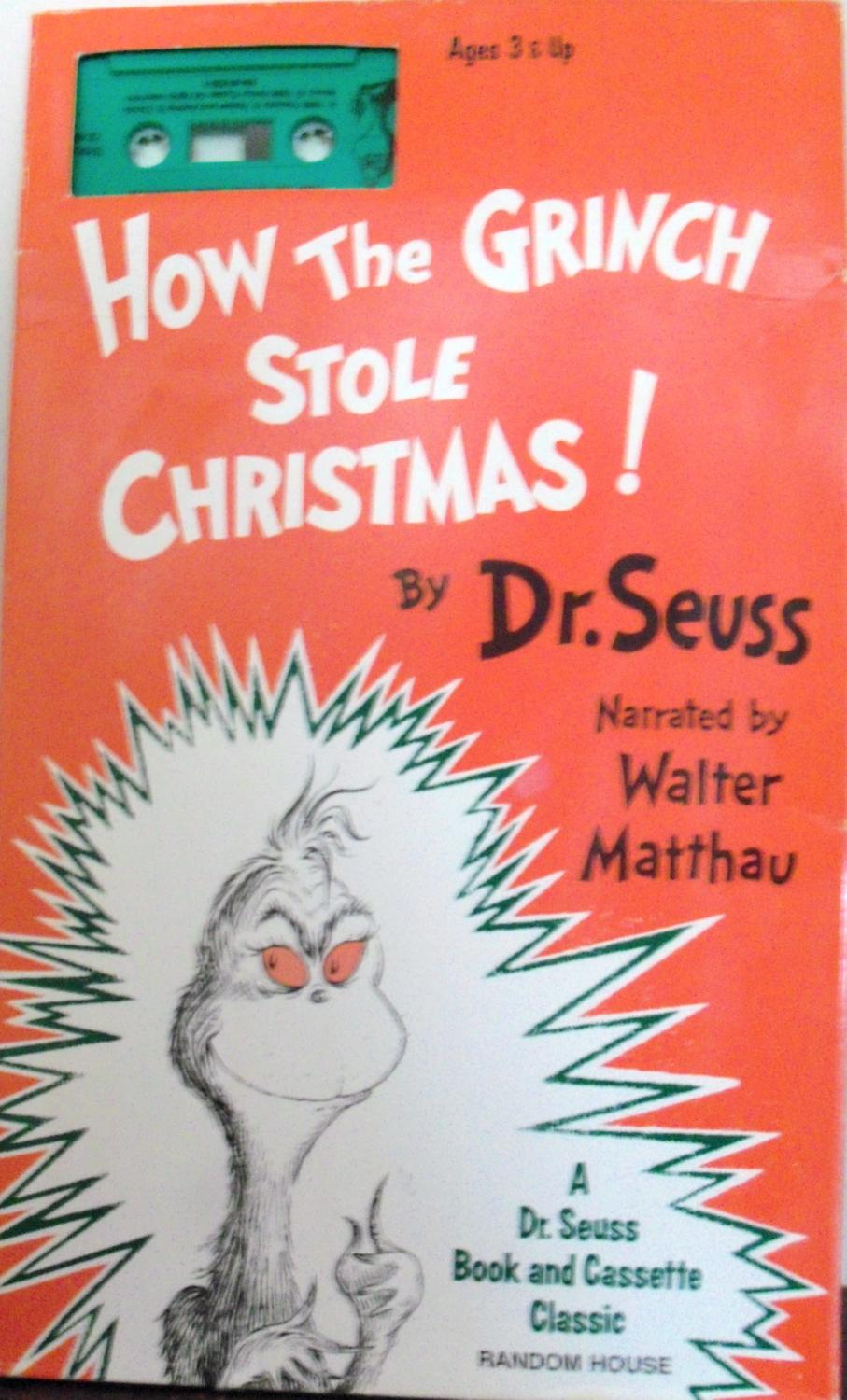 How the Grinch Stole Christmas! (Book & Cassette) by Seuss, Dr ...