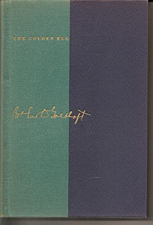 The Golden Egg: An Autobiography: Goldhaft, Arthur D.; Levin, Meyer, (Intro and Edited y)