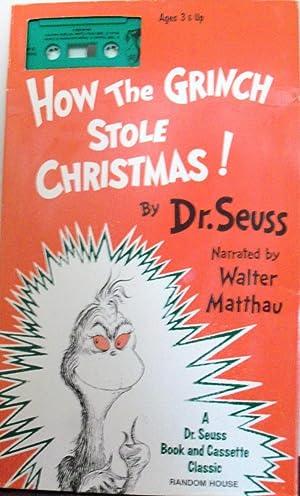 How the Grinch Stole Christmas! (Book &: Seuss, Dr.; Matthau,