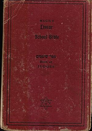 Book of Judges: Magil's Linear School Bible: Magil, Joseph