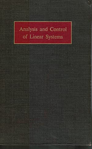 Analysis and Control of Linear Systems: Ku, Y. H