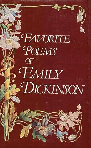 Favorite Poems of Emily Dickinson: Emily Dickinson; Todd,
