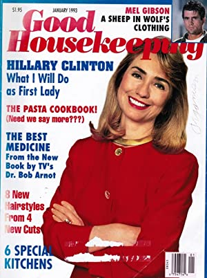 Good Housekeeping Magazine: January 1993 Hillary Clinton: What I Will Do As First Lady