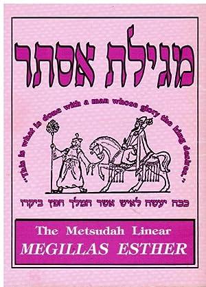 The Metsudah Linear Megillas Esther: Davis, Avrohom; Nachum