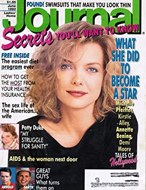 Ladies' Home Journal: June 1992 (Michelle Pfeiffer: Myra Blyth, editor-In-Chief