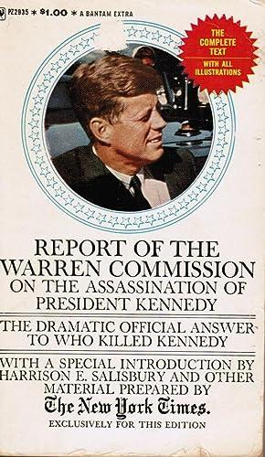 Report of the Warren Commission on the: Salisbury, Harrison E.