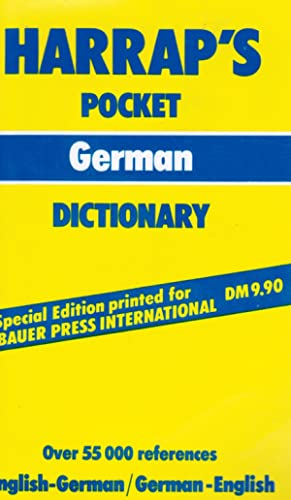 Harrap's Pocket German Dictionary