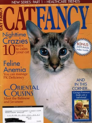 CAT FANCY Magazine: January 2004 George Foreman and His Cats