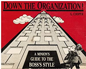 Down the Organization: a Minion's Guide to the Boss's Style: Cooper, Ginny