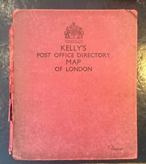 Kelly's Post Office Directory Map of London