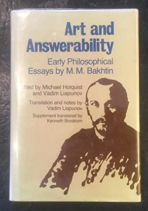 art and instability early philosophical essays Free shipping buy art and answerability : early philosophical essays at walmartcom.