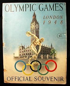 OLYMPIC GAMES LONDON 1948 OFFICIAL SOUVENIR