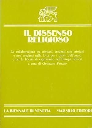 IL DISSENSO RELIGIOSO: Pattaro Germano (a