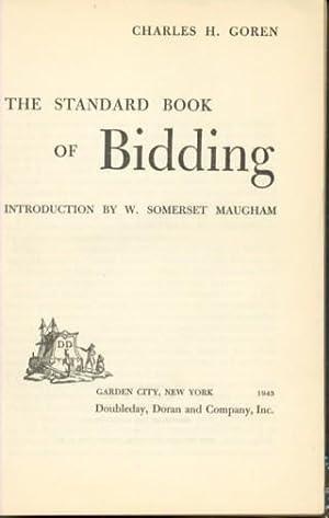 THE STANDARD BOOK OF BIDDING: Goren Charles H.
