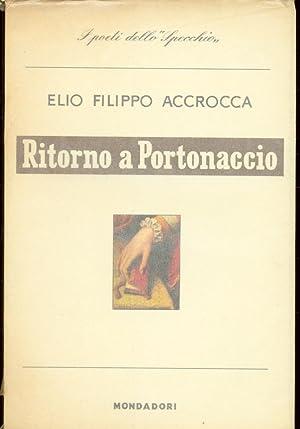 RITORNO A PORTONACCIO: Accrocca Elio Filippo