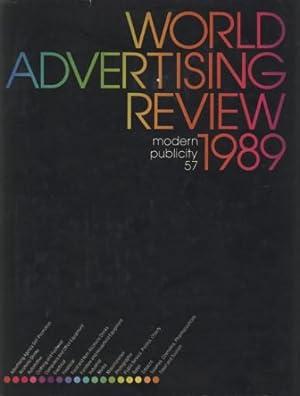 WORLD ADVERTISING REVIEW 1989 MODERN PUBLICITY 57: Kleinman Philip