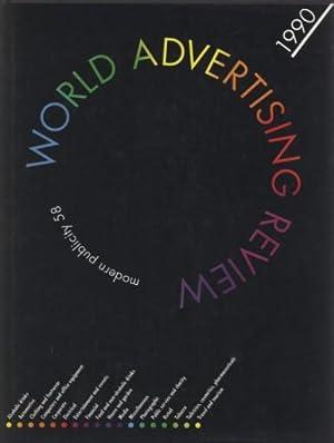 WORLD ADVERTISING REVIEW 1990 MODERN PUBLICITY 58: Kleinman Philip