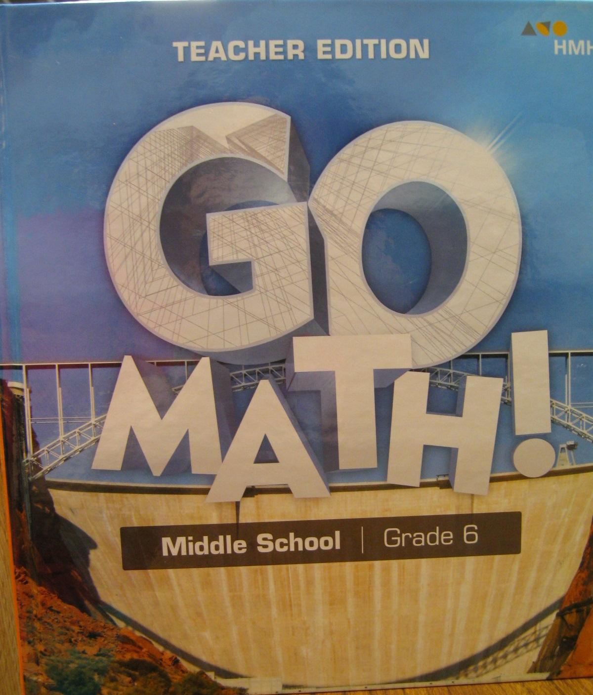 Go Math! Teacher Edition  Middle School